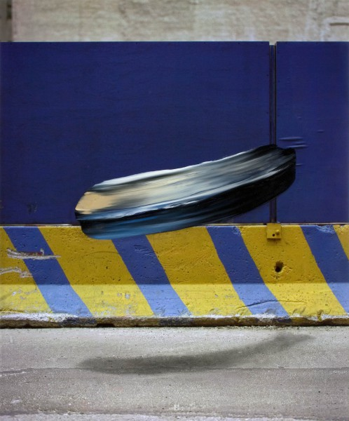 Objekt 709-7-2, oil on Cibachrome Print, 120 x 100 cm, 2006
