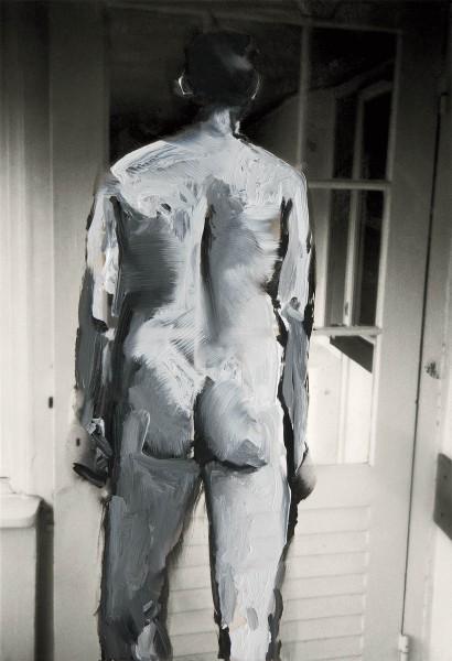 Figur 10-22, oil on silver gelatine print, 10-15 cm, 1995