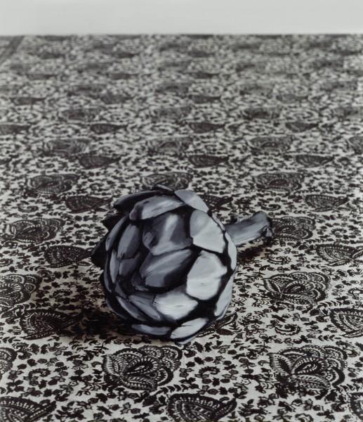 Bananen 164-12, oil on silver gelatine print, 125 x 109 cm, 1996