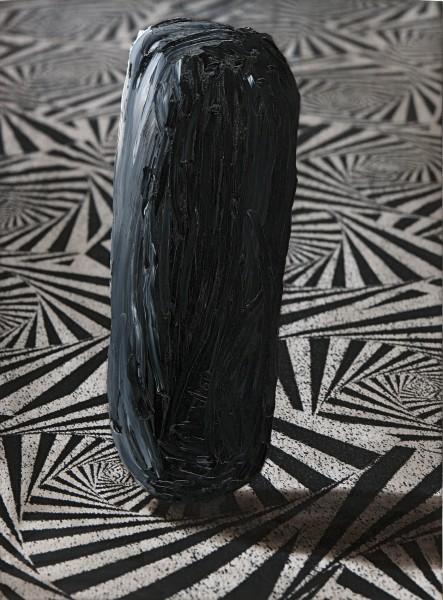 Objekt 247-10, oil on silver gelatine print, 82 x 62 cm, 1997