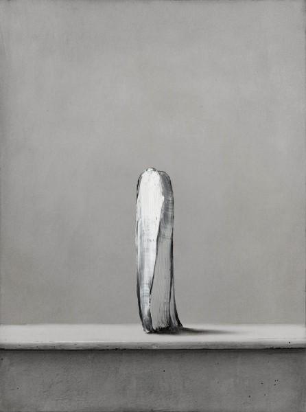 Objekt 273-6-33, oil on silver gelatine print, 40 x 30 cm, 2015