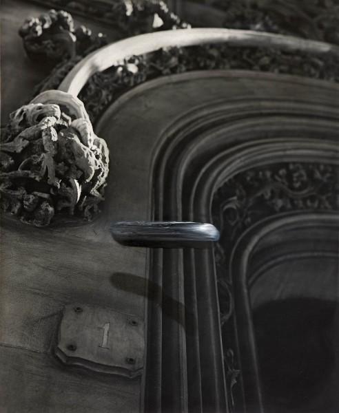 Objekt 282-6-2, oil on silver gelatine print, 50 x 60 cm, 1998