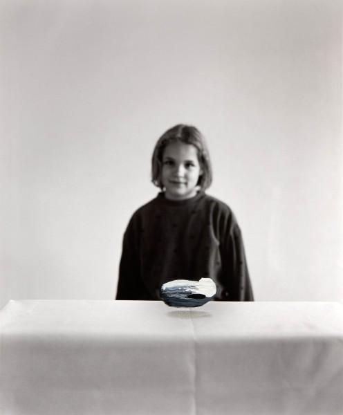 Objekt 349-3-6, oil on silver gelatine print, 60 x 50 cm, 1999