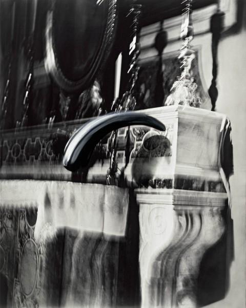 Objekt 593-7-5, oil on silver gelatine print, 110 x 88 cm, 2004